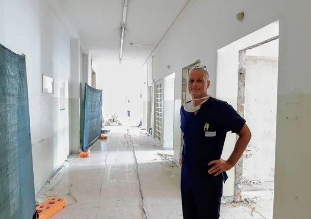 avvio cantiere pronto soccorso e nuova terapia intensiva