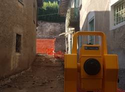 Bisuschio: i lavori e i ritrovamenti nel centro storico