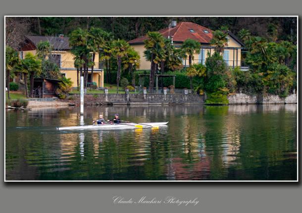 Canottaggio a Lavena Ponte Tresa- foto di Claudio Marchiori
