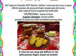"""Biscotti solidali i \""""DISTROTTINI\"""" pro UILDM Onlus - Unione Italiana Lotta alla Distrofia Muscolare - Sezione di Varese"""