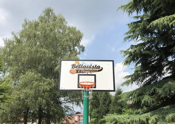 Nuovo look per il Campetto Bellavista di Malnate