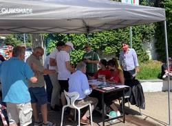 La distribuzione dei kit di Pallacanestro Varese