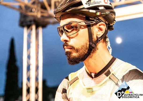 Ultracycling, il sestese Favini al via della Dolomitica 380