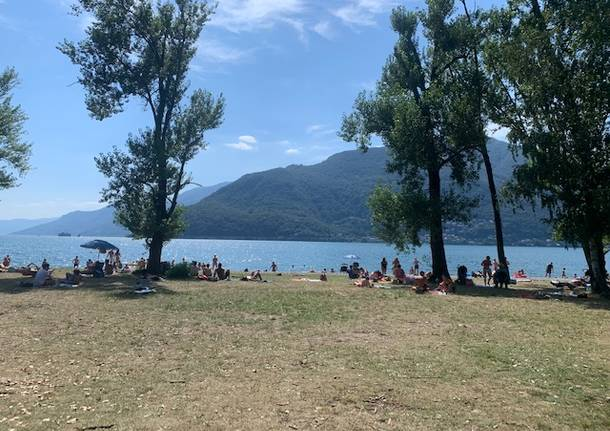 La difficile estate dei campeggi sul Lago Maggiore