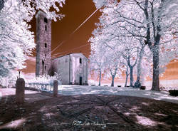 Sant'Eusebio in Infrared.