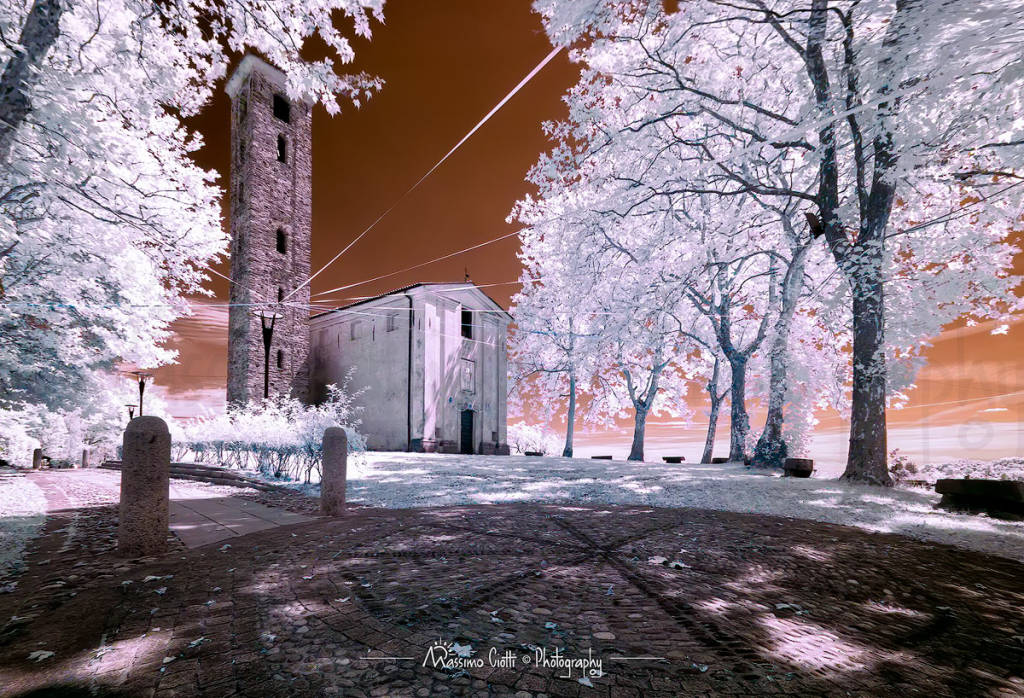 Sant\'Eusebio in Infrared.