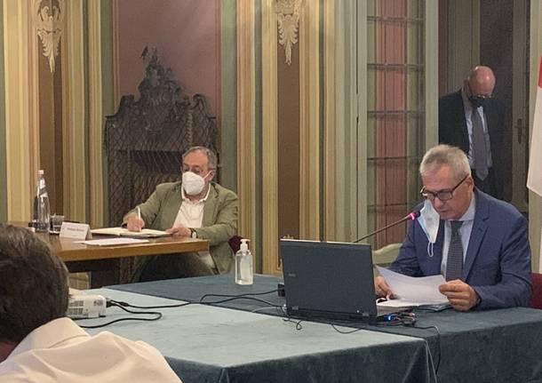 Consiglio comunale varese luglio 2020