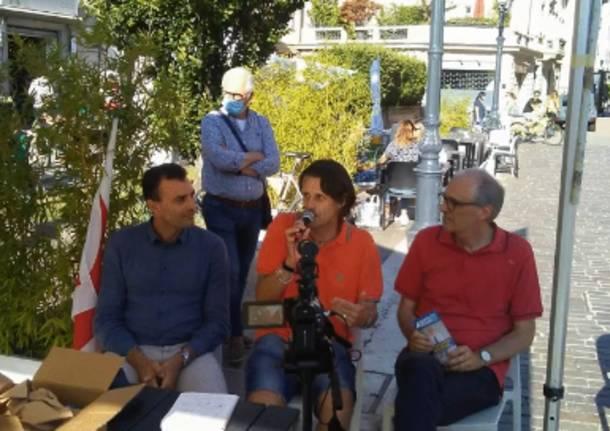 Elezioni a Saronno, weekend di gazebo e incontri