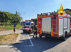 incidente stradale a ternate