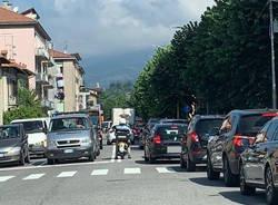 incidente viale belforte luglio 2020 traffico varese