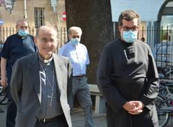L'arcivescovo Delpini in visita all'oratorio di Busto Garolfo