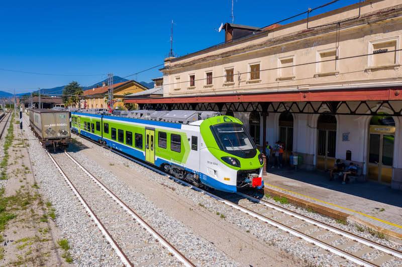 L'inaugurazione del treno Donizetti sulla tratta Milano-Luino