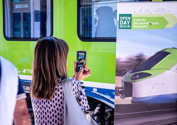 Il nuovo treno Donizetti
