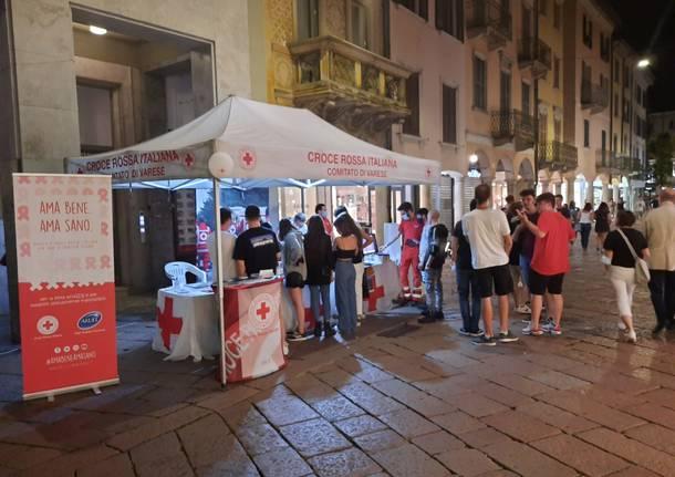 La croce Rossa di Varese torna in piazza