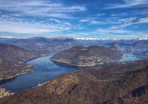 Il fascino del Lago Ceresio