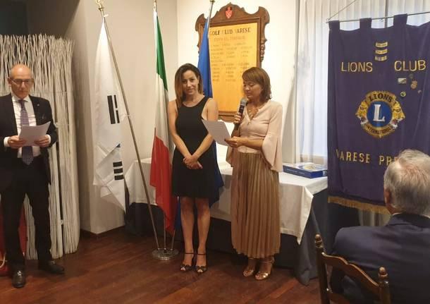 lions club varese emanuela solimeno anita romeo