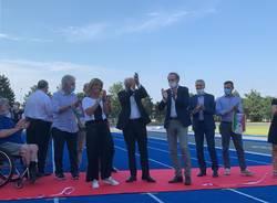 Lo stadio dell'atletica Angelo Borri di Busto Arsizio rimesso a nuovo