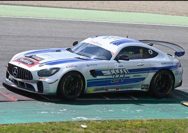 luca magnoni mercedes gt4 team nova race