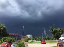 maltempo nuvole