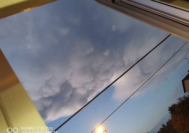 La nuvola Mammatus nelle foto dei lettori
