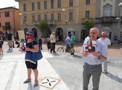 Manifestazione contro il ddl Zan sull'omotransfobia