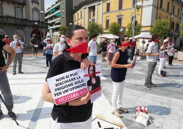 In piazza per dire no al ddl Zan sull'omotransfobia