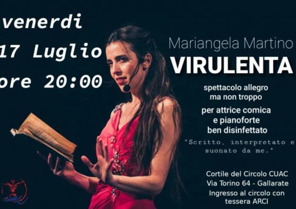 Mariangela Martino virulenta attrice