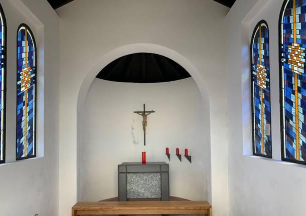Monte Generoso: la piccola chiesa in vetta