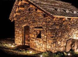 nel bosco di notte, lanterne oasi zegna