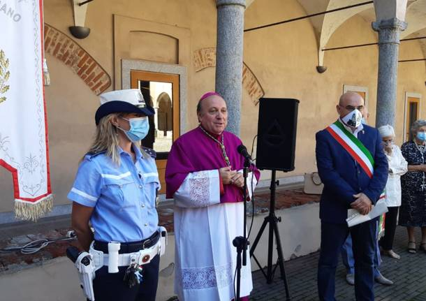 Nerviano festeggia il vescovo Vegezzi