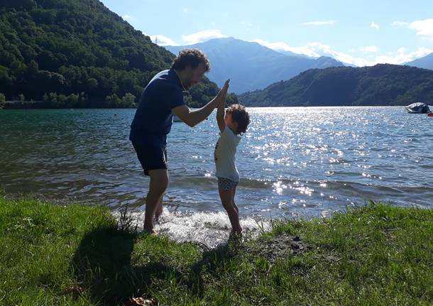 Lombardia on the road: madre e figlio in viaggio
