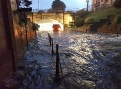 Nubifragio sul Saronnese: la conta dei danni