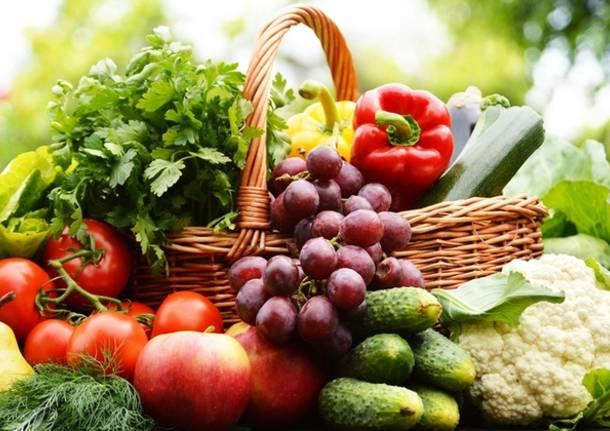 Orto verdure mercato