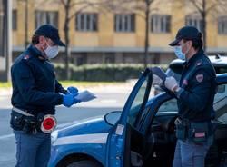 polizia mascherine
