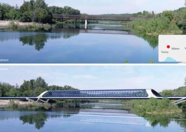 progetto nuovo ponte di Oleggio