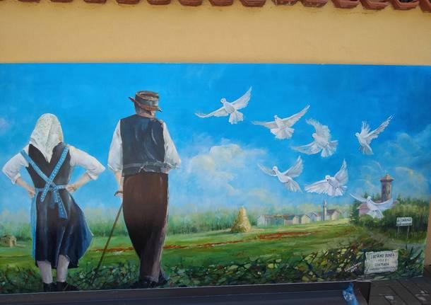 restauro murales dairago