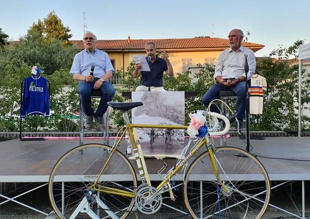 san giorgio su legnano ricorda il ciclista ugo colombo