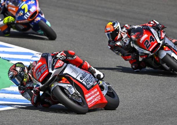 stefano manzi simone corsi motociclismo moto2 motomondiale mv agusta forward racing jerez