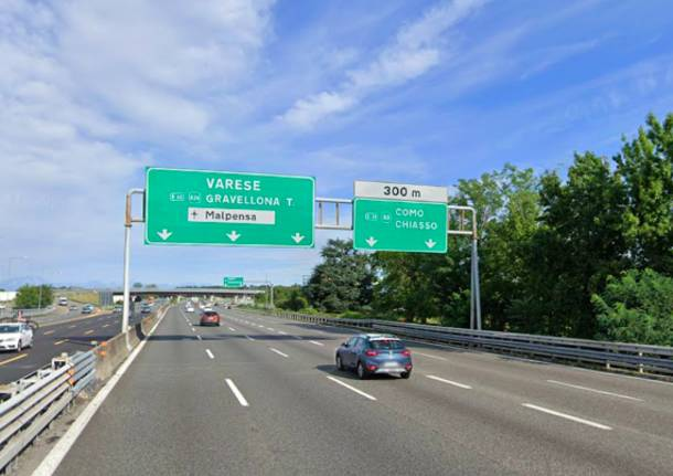 svincolo autostrada a8 a9