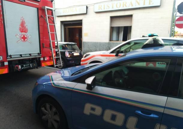 Vigili fuoco- decesso in via Roma