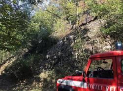 Agra: incendio al monte Formica