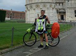 Andrea Maggioni in viaggio Legnano- Palermo