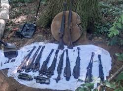 Armi nei boschi di Gallarate