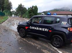 Cadegliano Viconago - Detriti sulla strada