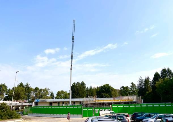 Jrc, il cantiere del nuovo centro visitatori
