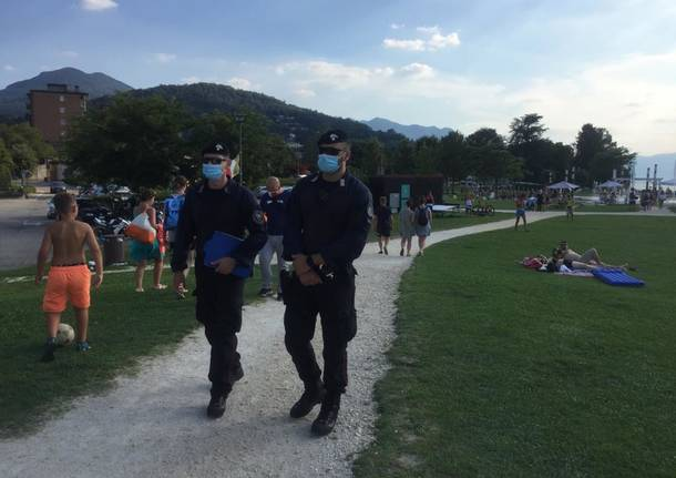 Luino, Maccagno e Germignaga: carabinieri in azione contro furti e assembramenti