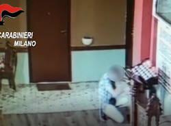carabinieri Garbagnate Milanese ladro di monetine