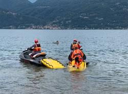 Guardia Costiera al lavoro sul Lago Maggiore