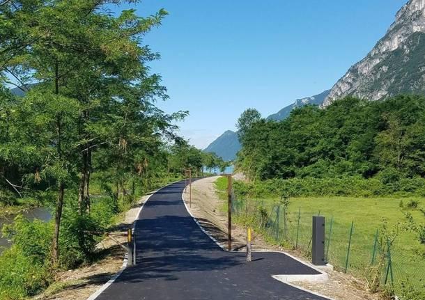 Ceresio pista ciclabile Menaggio Porlezza