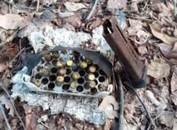 Ceriano, nell'ex bosco della droga spuntano altri 16 proiettili